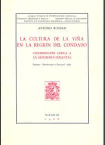 La cultura de la viña en la región del Condado (Contribución léxica a la geografía dialectal)