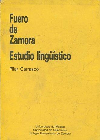 Fuero de Zamora. Estudio Lingüístico