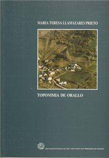 Toponimia de Orallo