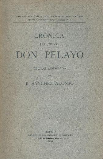 Crónica del obispo don Pelayo