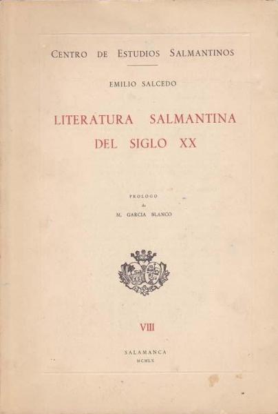Literatura salmantina del siglo XX
