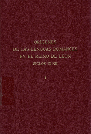 Terminología jurídica en la documentación del Reino de León: siglos IX-XI
