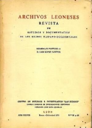Voces referentes a la metrología de la provincia de León