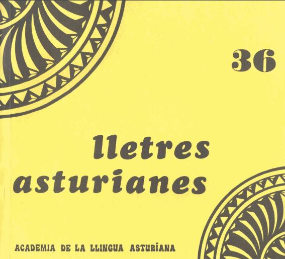 De antroponimia asturiana y leonesa medieval