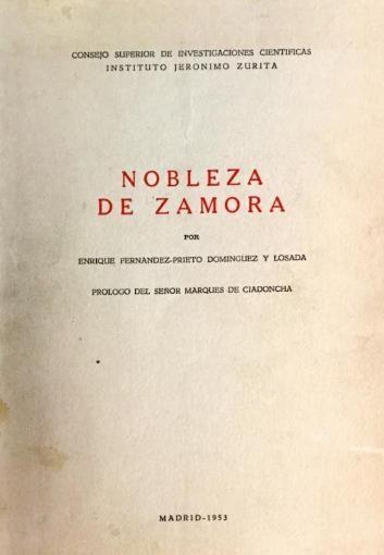 Nobleza de Zamora