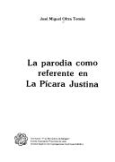 La parodia como referente en 'La pícara Justina'