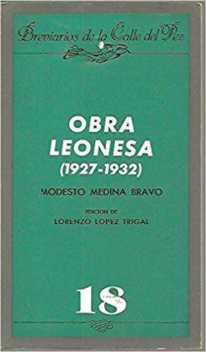 Obra leonesa (1927-1932)