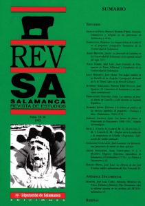 Onomástica y religión en las provincias de Salamanca y Ávila