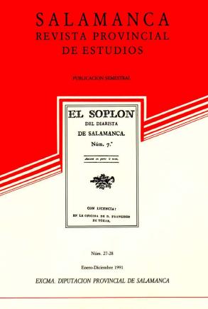 Salamanca en los escritores franceses (1531-1813)