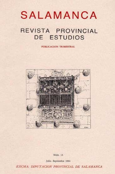 Constantes etopéyicas del castellano-salmantino a la luz poética de Gabriel y Galán: valores tradicionalistas y atributos castellanos