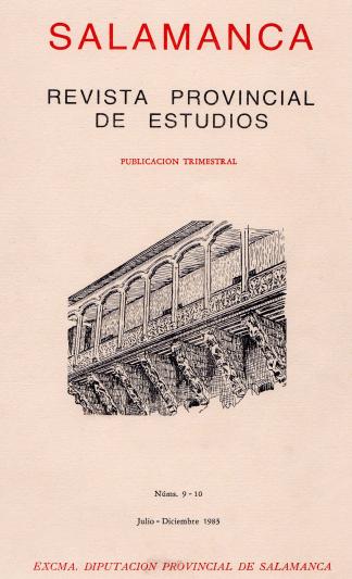 Bibliografía básica para la prehistoria y arqueología de la provincia de Salamanca