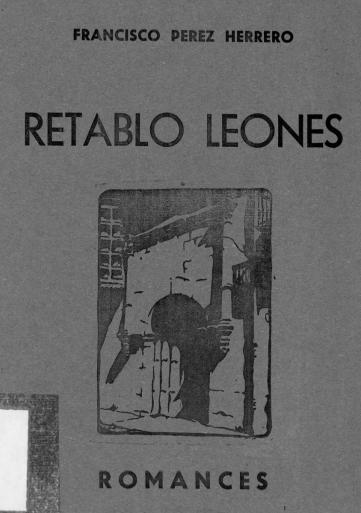 Retablo leonés: romances