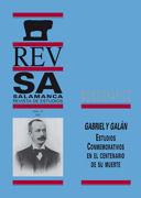 José Mª Gabriel y Galán. Aspectos geográficos de su vida y obra. Un testigo de su tiempo