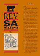 """Dos pintores salmantinos pensionados en Roma Antonio Carnero Martín (""""El Mundo (1845-1904) y Vidal González Arenal (1859-1925)"""