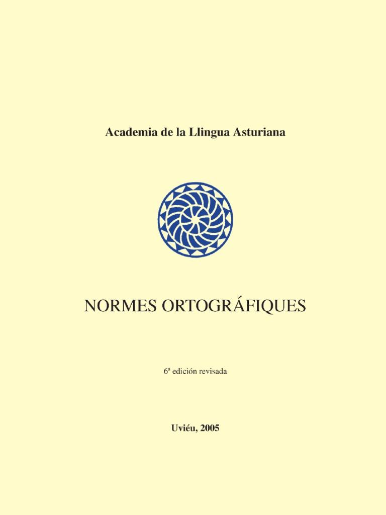 Normes ortográfiques y conxugación de verbos