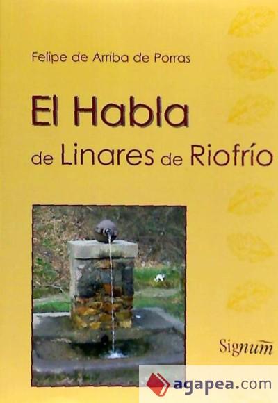 El habla de Linares de Riofrío: léxico