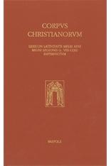 Lexicon Latinitatis Medii Aeui Regni Legionis (s. VIII-1230) Imperfectum