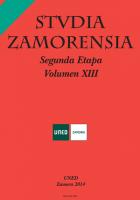 El romanismo escultórico zamorano de comienzos del siglo XVII en Ourense