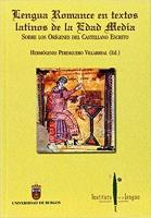 Evolución fonética y tradiciones gráficas sobre la documentación del Monasterio de Sahagún en Orígenes del español