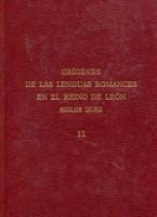 Los arabismos en la documentación del Reino de León (siglos IX-XII) y Glosario de arabismos