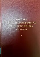 Estructuras sintácticas del latín y del romance, siglos IX-XII: pérdida y reajuste de la flexión casual
