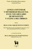 Lengua estándar y diversidad dialectal en el vocabulario de Benavente y cuenca del Órbigo
