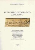 Refranero geográfico zamorano 1924-1990