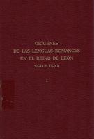 Orígenes de las lenguas romances en el reino de León