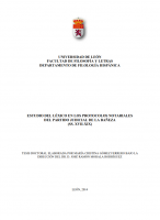 Estudio del léxico en los protocolos notariales del Partido Judicial de La Bañeza (ss. XVII-XIX)