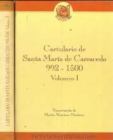 Cartulario de Santa María de Carracedo. I. 992-1500