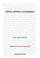 Léxico de la indumentaria en relaciones de bienes leoneses del siglo XVII