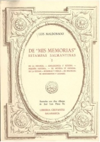 """Mis memorias"": estampas salmantinas"