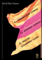 El proceso autonómico leonés, La identidad leonesa, La personalidad leonesa