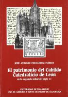 El patrimonio del Cabildo Catedralicio de León en la segunda mitad del siglo XV