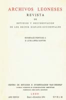 Los obispos leoneses Álvarez Miranda y Almarcha Hernández y el estudio de las fuentes escritas: entre los recuerdos y los retos
