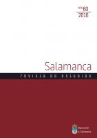 El curso escolar, horarios, fiestas y asuetos en la Universidad de Salamanca en el Siglo de Oro