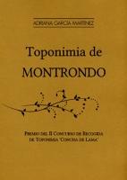 Toponimia de la Montrondo
