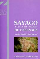 Sayago a la luz del Catastro de Ensenada: respuestas generales