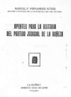 Apuntes para la historia del partido judicial de La Bañeza