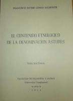El contenido etnológico de la denominación ''astures''