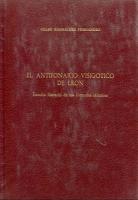 El Antifonario visigótico de Léon: estudio literario de sus fórmulas sálmicas