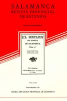 La población salmantina en el siglo XVIII según sus recuentos