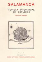 Aportaciones a la historia del urbanismo: Salamanca en el siglo XVII