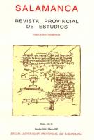 Sobre una Estela Funeraria procedente del Castillo Viejo de Valero (Salamanca)