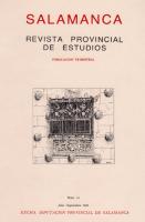 Primer testimonio histórico sobre la Casa de Las Conchas destino Universitario del famoso monumento salmantino