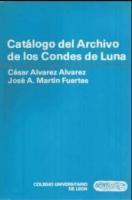 Catálogo del Archivo de los Condes de Luna