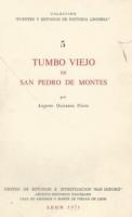 Tumbo viejo de San Pedro de Montes