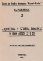 Arquitectura y escultura románicas en León: (siglos XI y XII)