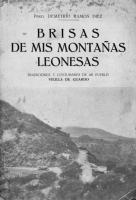 Brisas de mis montañas leonesas : tradiciones y costumbres de mi pueblo, Velilla de Guardo