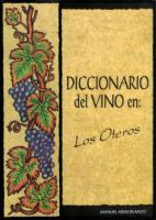 Diccionario del vino en los Oteros